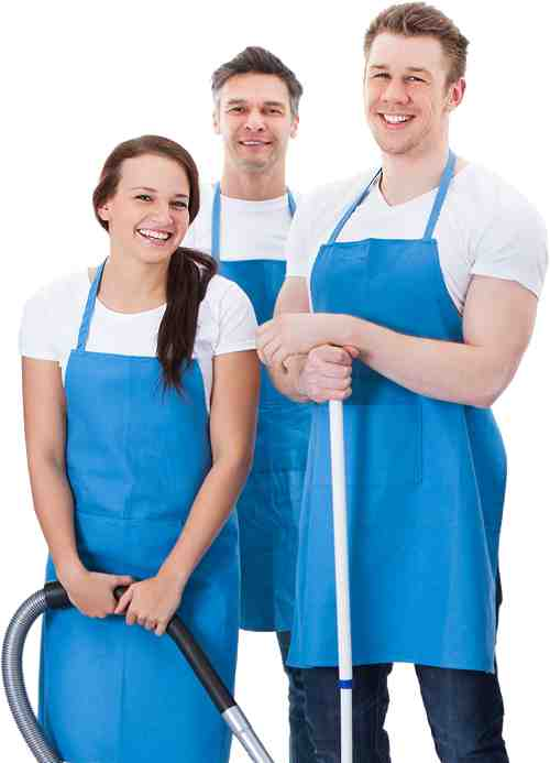 Image of the Office Cleaning Solutions team