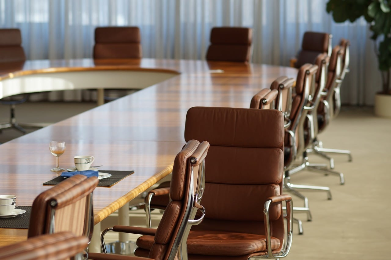 Image of a meeting table