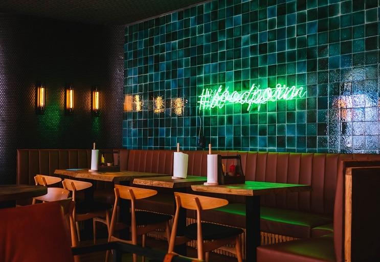 Image of an empty nightclub
